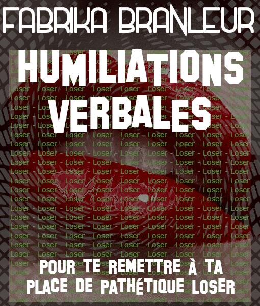 Image du pack d'audioporn d'humiliation verbale