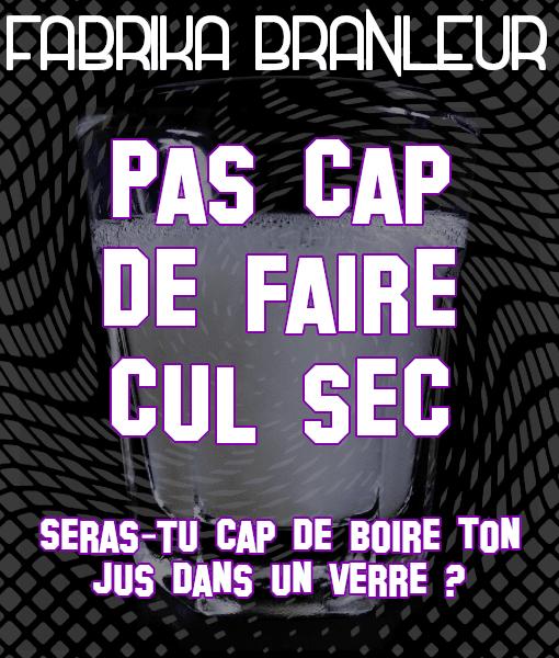 """Image du Mp3 CEI """"Pas cap de faire cul sec"""""""