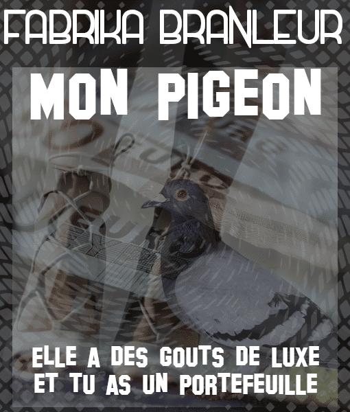 Image findom audio Mon pigeon